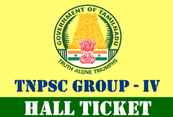 Group IV Hall Ticket 2016