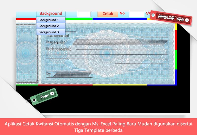 Aplikasi Cetak Kwitansi Otomatis dengan Ms. Excel Paling Baru Mudah digunakan disertai Tiga Template berbeda.jpg