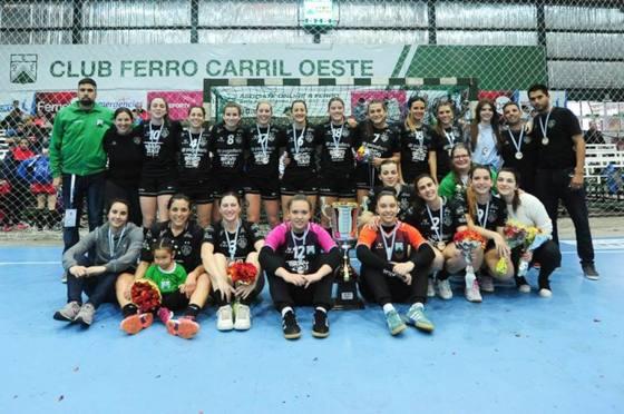 Ferro Campeón Nacional Clubes Femeninos 2017
