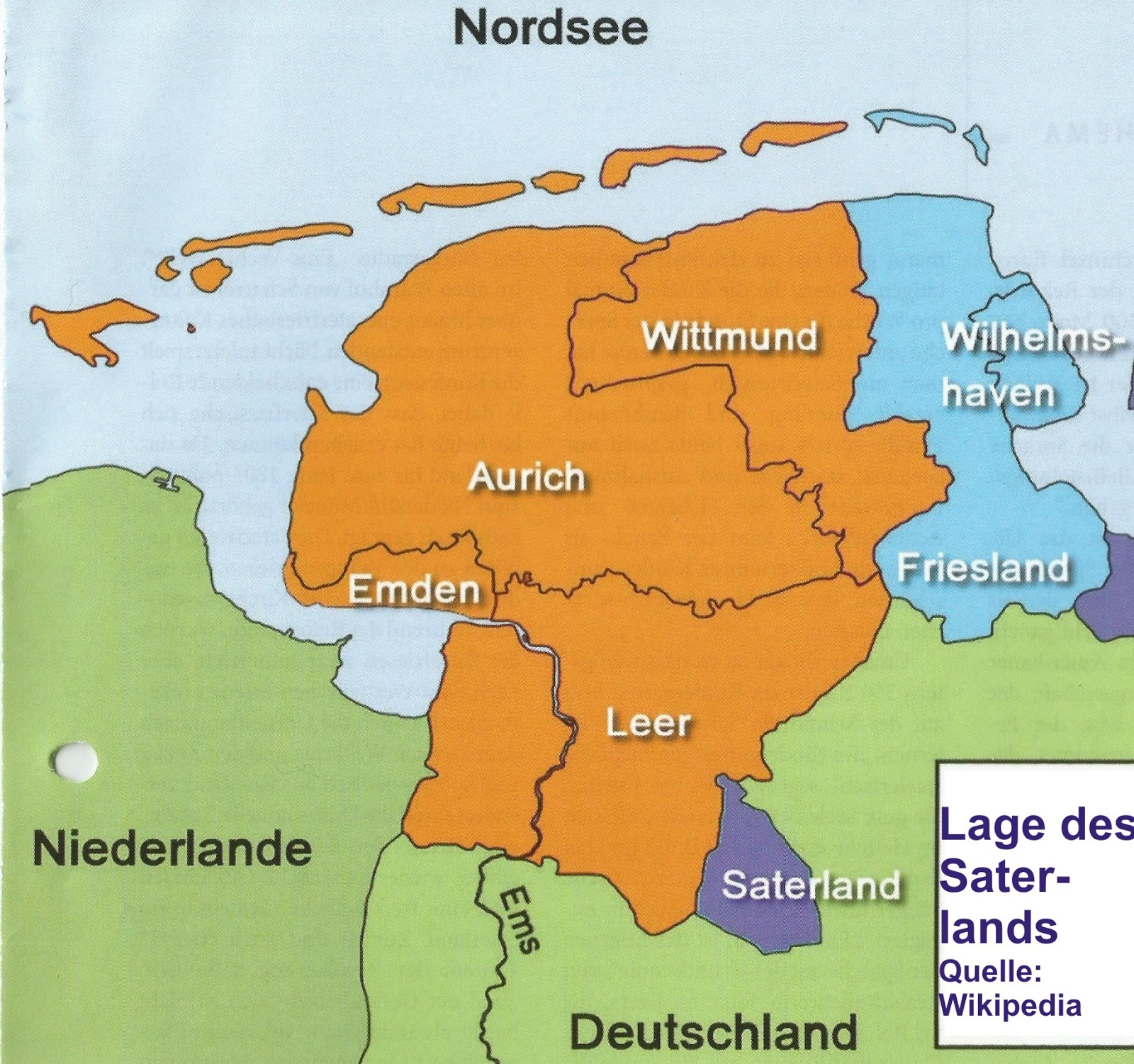 Euro Ethnien 3 052 Ostfriesland Und Die Saterland Friesen