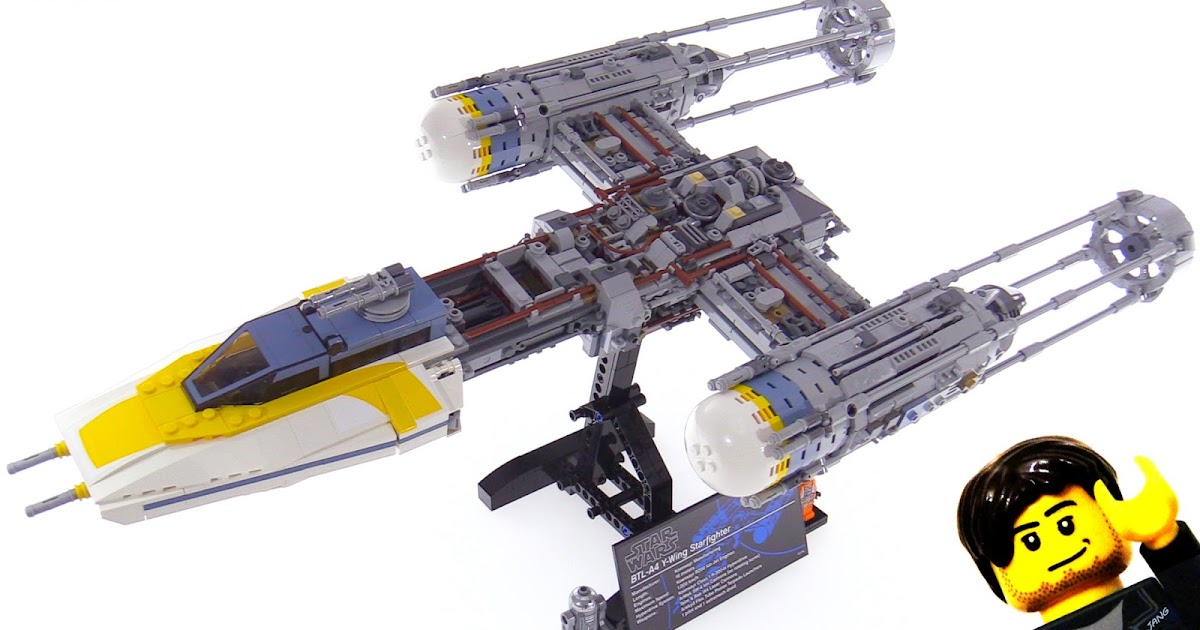 LEGO Star Wars Ultimate Collector Series Y-Wing Starship build ...