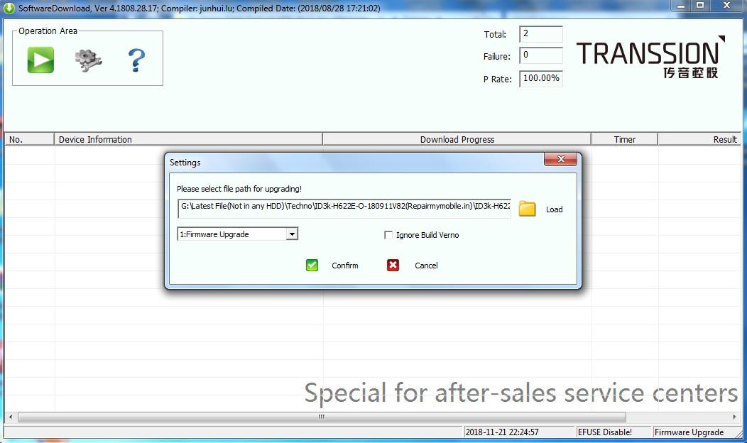 Tecno Flash Tool v4 1808 28 17_for_AfterSales___Ijaz___Mobile___