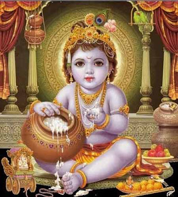 A collection of mantras for Sri Krishna Janmashtami