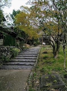 Stone Steps In Maruyama Park, Kyoto