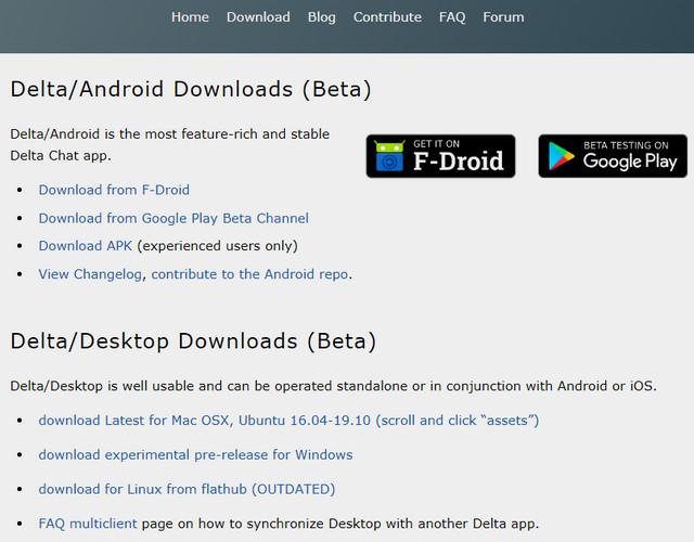 تطبيق Delta Chat للمراسلة الفورية أسرع وأكثر أمانًا من واتساب