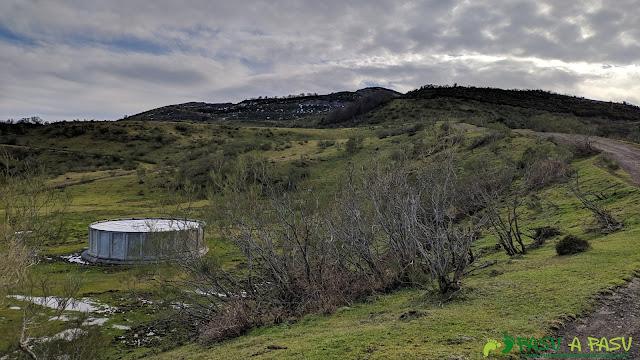 Depósito de agua en el Alto la Tejera