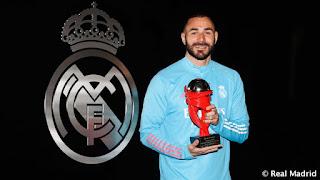 Karim Benzema MVP de La Liga de Marzo