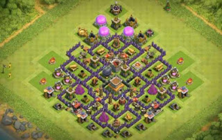 Base CoC TH8 Terbaik