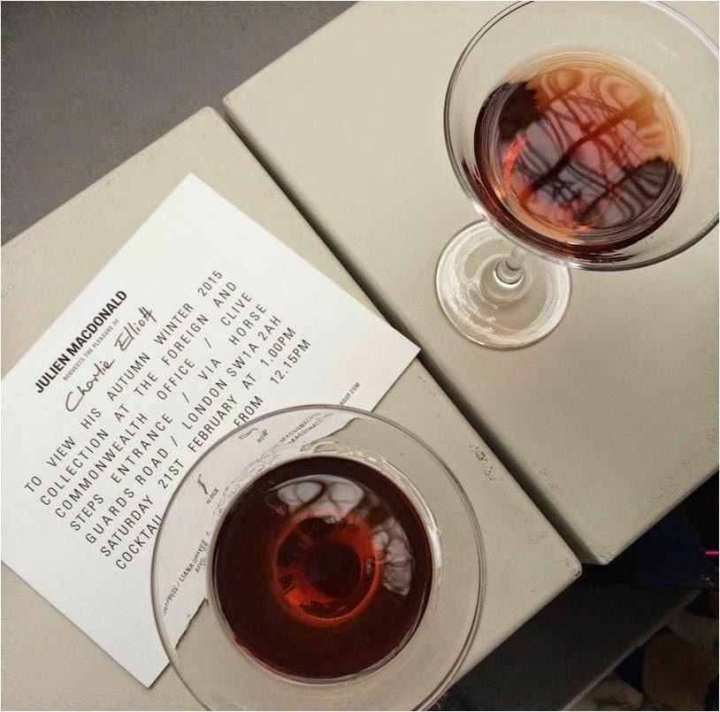 cocktail glass invitation