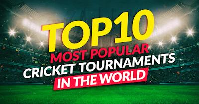Popular cricket tournament