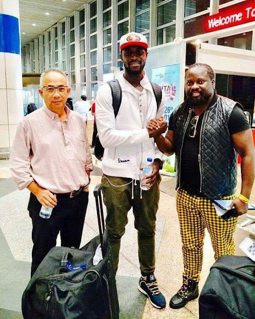 Mamadou Futty Danso sudah tiba di Kota Bharu
