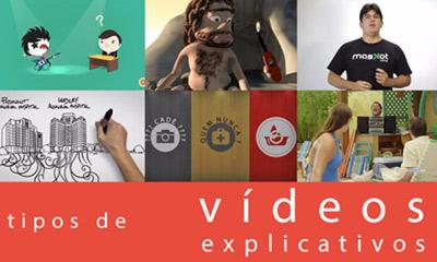 Tipos de vídeos animados