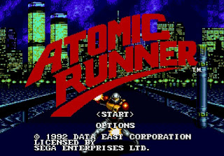 Atomic Runner - Mega Drive