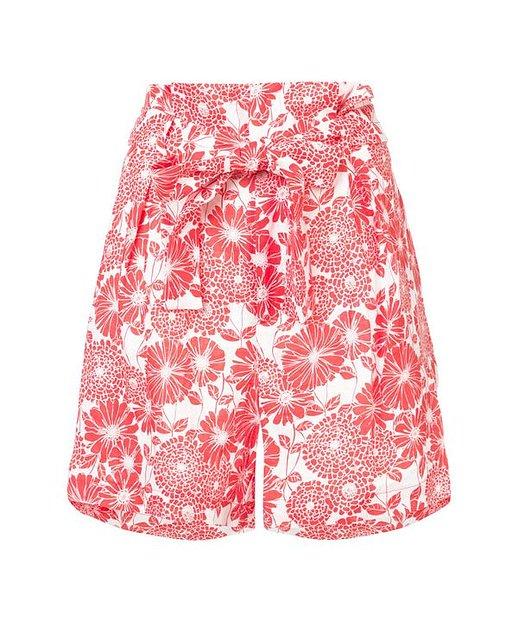 Lisa Marie Fernandez Florale Shorts - Rot
