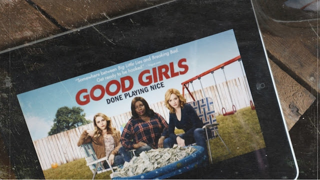 "Mae Whitman, Retta Sirleaf & Christina Hendricks en braqueuses de choc dans ""Good Girls"""