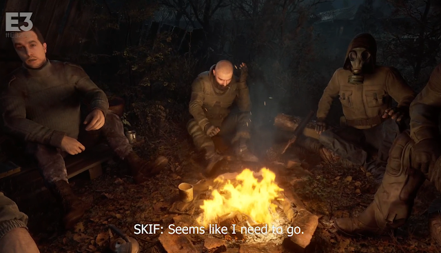 Xbox Bethesda Games Showcase Stalker 2 Heart of Chernobyl E3 2021 Skif going