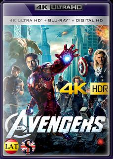 Los Vengadores (2012) REMUX 4K UHD HDR LATINO/INGLES