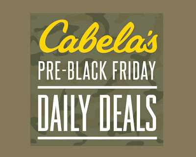 Cabela's Pre-Black Friday Daily Deals