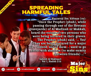 MAJOR SIN. 43. SPREADING HARMFUL TALES