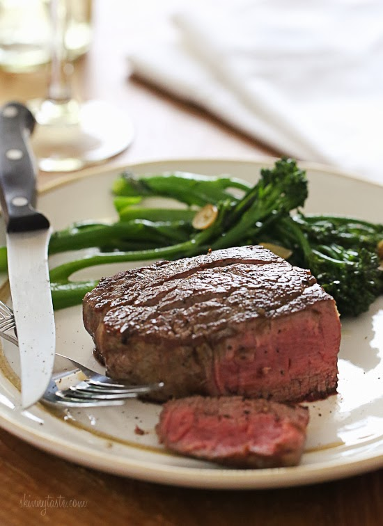 Perfect Filet Mignon For Two Skinnytaste