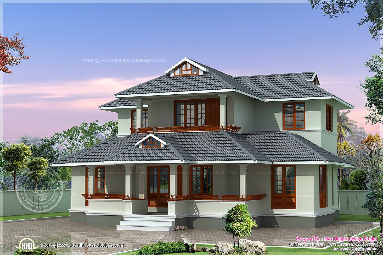 2 bedroom attached home in 1800 sq ft kerala home design for 1800 sq ft indian house plans