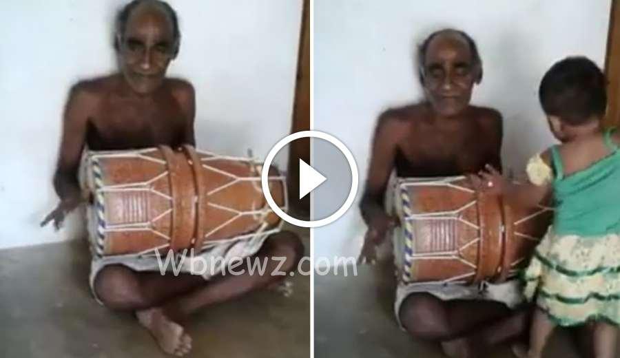 இந்த வயதில் இப்படி ஒரு குரல் வளமா 85 வயது தாத்தாவின் மெய்சிலிர்க்கவைக்கும் பாடல்