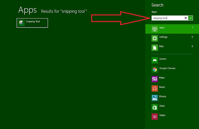 how to take screenshot on laptop by Snipping tool