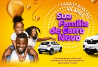 Cadastrar Aniversário Barbosa 2020 Carro Novo e Prêmios - Supermercados 44 Anos