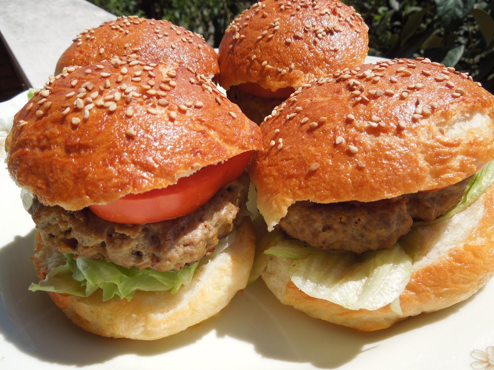 Ben noto cibo che fa sognare  senza glutine: PANINI CON L'HAMBURGER  MB98