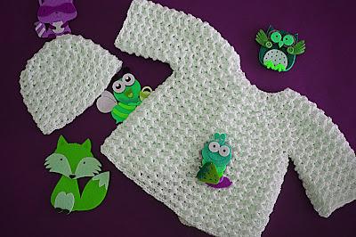 6 - Crochet Imagenes Gorrito a crochet para jersey y cambrita por Majovel Crochet