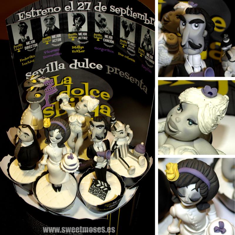 Sevilla Dulce 2013 : Cupcakes Cinéma - La Dolce Isbilya de Moises Garrote