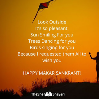 Makar sankranti wishes in english