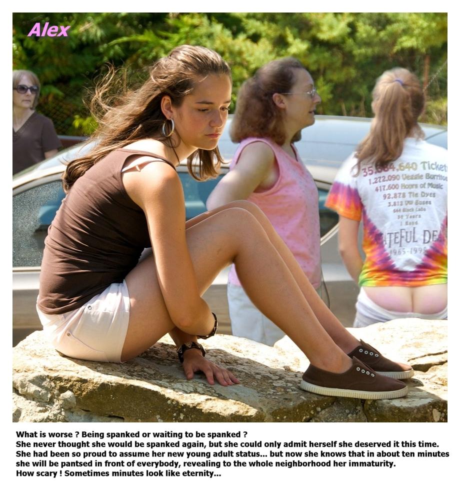 Embarrassing spanking story, haitain nude girls pics