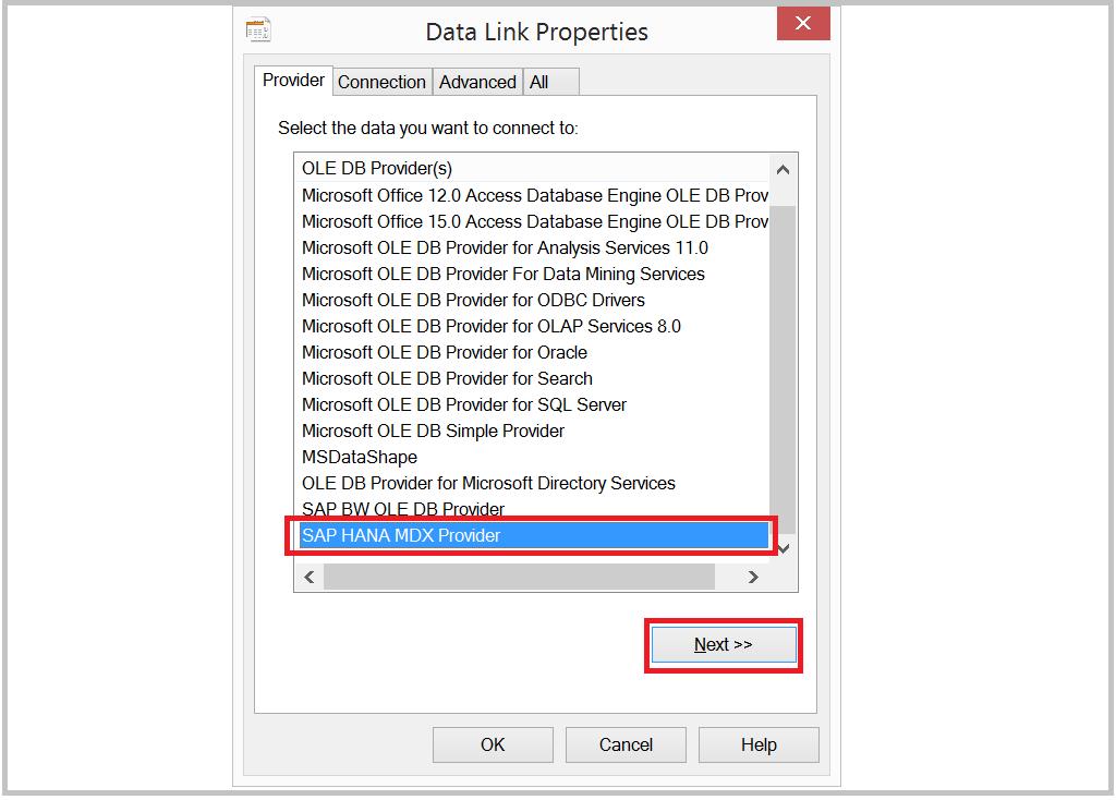 HANA Tutorials: MS Excel - HANA ODBC client install and accessing