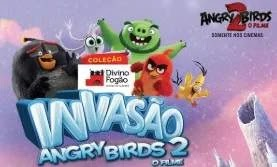 Fase 2 Promoção Divino Fogão Invasão Angry Birds 2 O Filme - Copos Colecionáveis