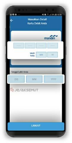 cara mengetahui user id mandiri online