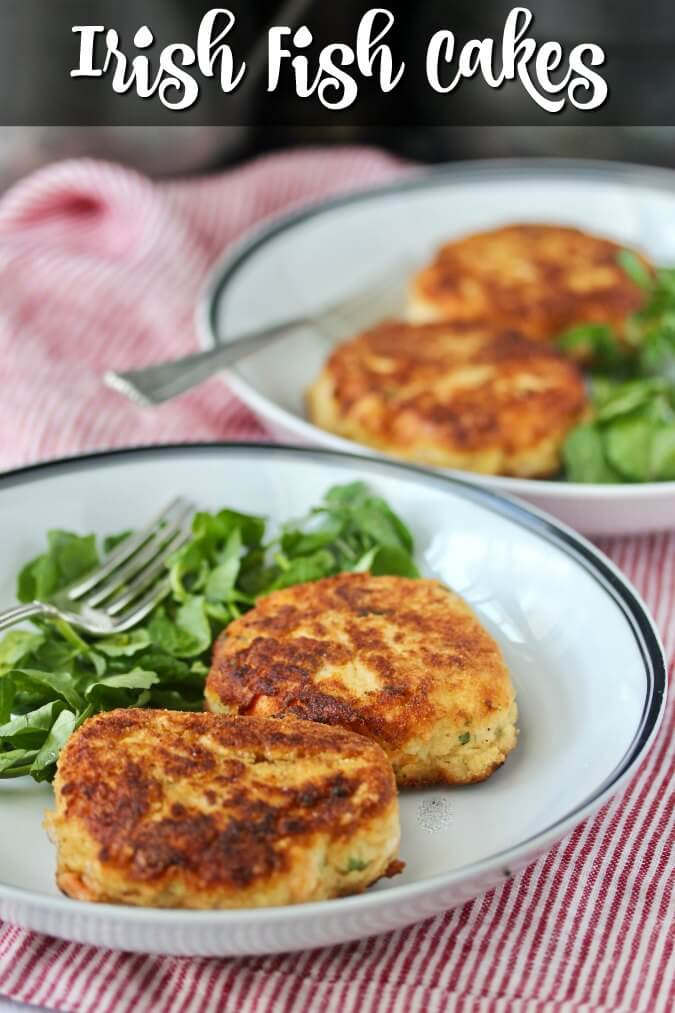 These fish cakes are one of my favorite treats from Ireland. They can be made with salmon, cod, hake, halibut, rockfish, or any flaky seafood you have access too.