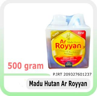 jual madu hutan super ar royyan 500 gram di semarang
