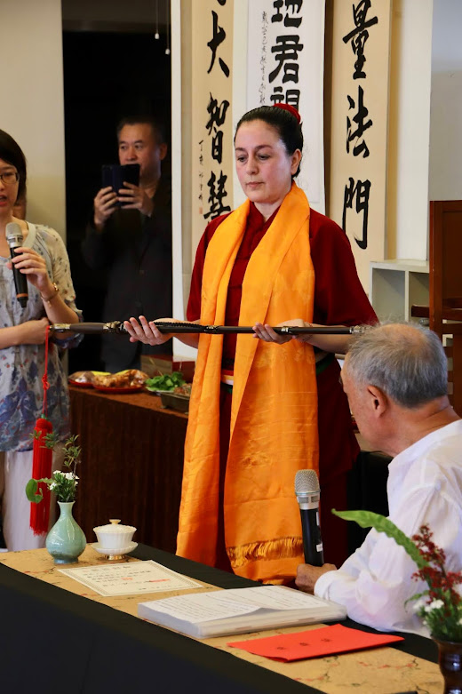 Ceremonia Baishi en Taiwan Noviembre 2019