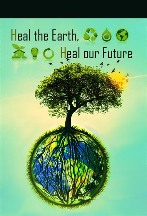 Unique Poster Making For World Earth Day