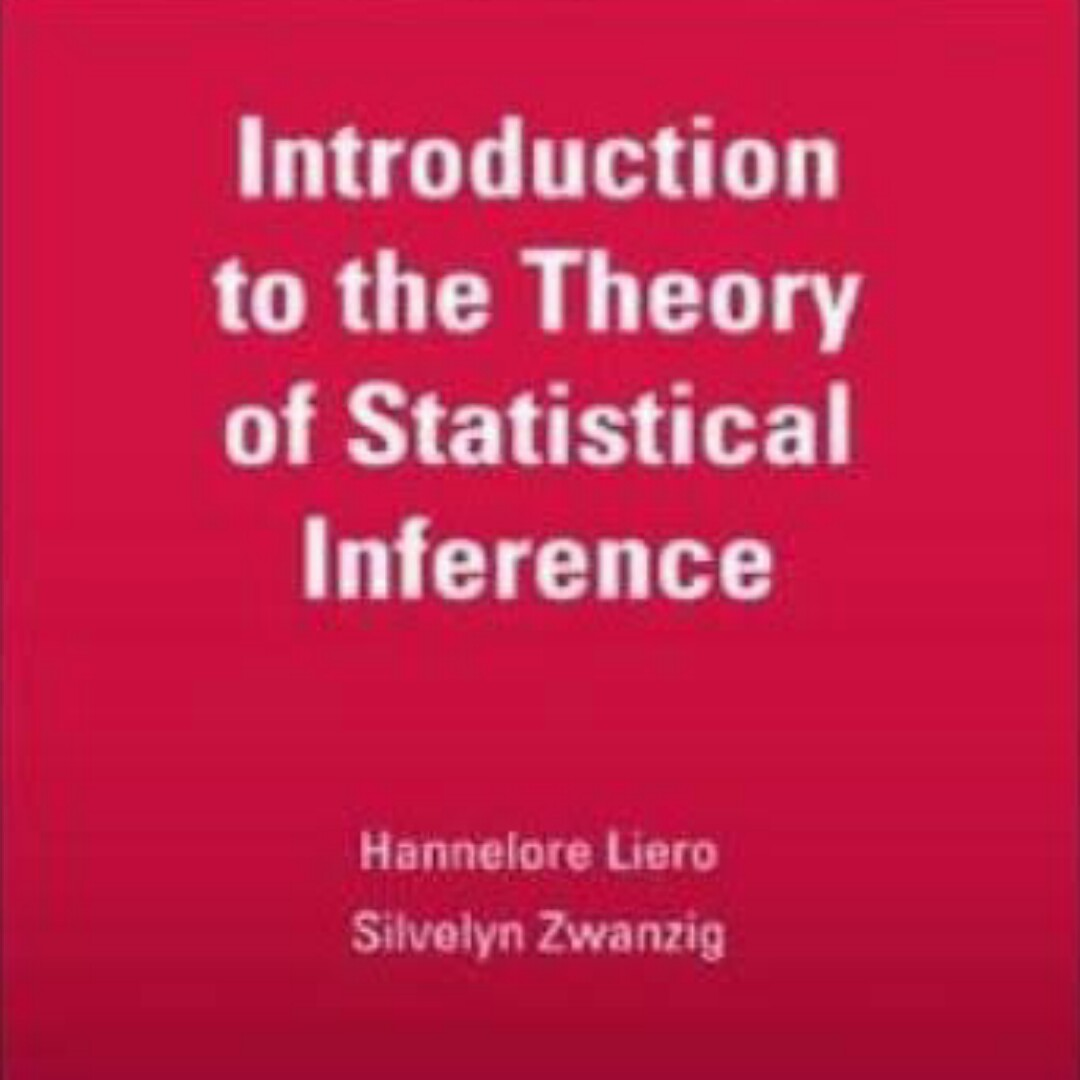 PDF(280 pages 2MB): Download Introduction to the Theory of Statistical Inference Textbook