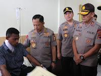 Kapolri M. Tito Karnavian Beri Kenaikan Pangkat Luarbiasa Kepada 3 Korban Anggota Pasca Rusuh
