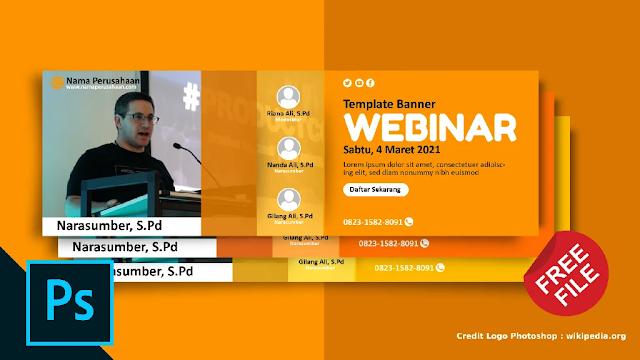 Gratis Banner PSD : Download Kumpulan Spanduk Seminar Adobe Photoshop