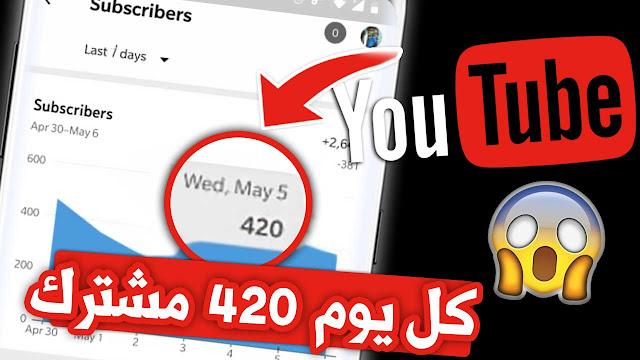 موقع زيادة مشتركين اليوتيوب