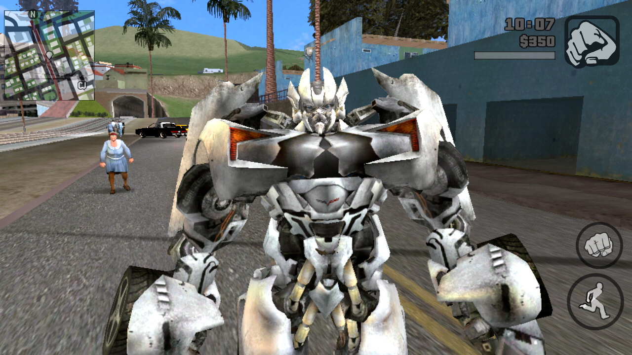 300 Mb] Download Gta Transformers for Android Highly Compressed Game