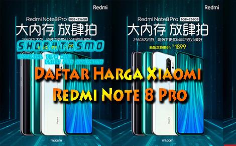Daftar Harga Xiaomi Redmi Note 8 Pro
