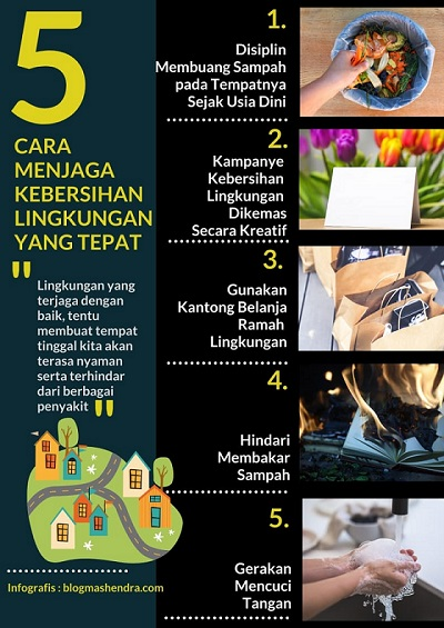 Menjaga Kebersihan Lingkungan yang Tepat