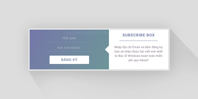 Create a Beautiful Popup Email Subscription for Blogspot