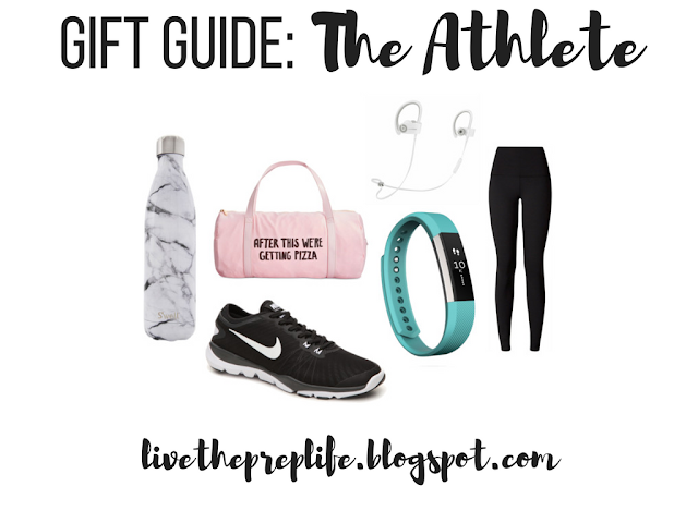 Christmas Gift Guide: The Athlete // Best Fitness Gifts For Girls // Live The Prep Life