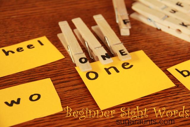 Beginner Sight Words